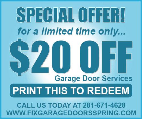 Discount Garage Door Repair Tomball